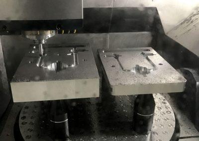 2 cavity prototype injection mold